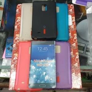 Jual Silikon capdase karet hitam soft case Samsung galaxy note edge n9150