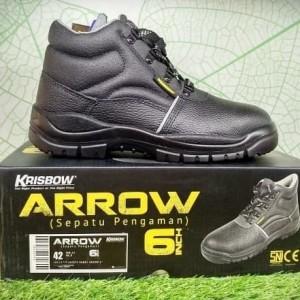 Sepatu Septi 6inc Krisbow Arrow Sepatu Pengaman Tokopedia