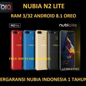 Zte Nubia N2 Lite Ram 3 Rom 32 Gb Fullview Garansi Resmi Tokopedia