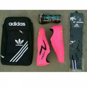 Paket Komplit Murah Sepatu Futsal Specs Spider Murah Tokopedia