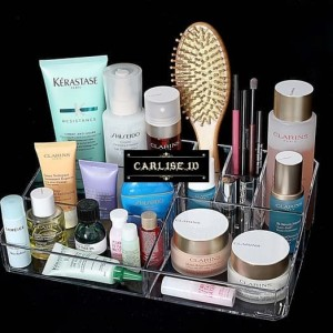 Rak Make Up Akrilik Tempat Kosmetik Desktop Storage Import Tokopedia