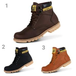 Sepatu Caterpillar Holton Safety Boots Tokopedia