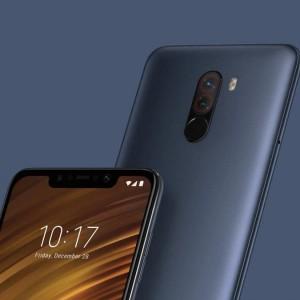 Xiaomi Pocophone F1 6 128 Blue Tam Resmi New Harga Reseler Modal Tokopedia