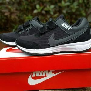 Sepatu Anak Nike Velcro Murah Kids Sekolah Sneakers Kets Unisex Tokopedia