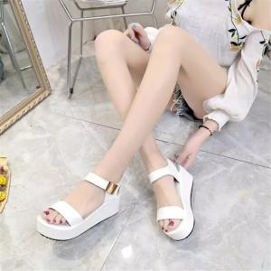 Sepatu Wanita Wedges Putih Tokopedia