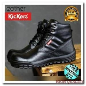 Kickers Boots Safety Sepatu Kerja Lapangan Pria Tokopedia