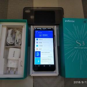Infinix Hot S3 4 64 Resmi Low Light Camera Tokopedia