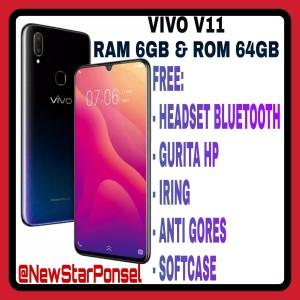 Vivo V11 Ram 6gb Rom 64gb Garansi Resmi Vivo 1tahun Indonesia Tokopedia