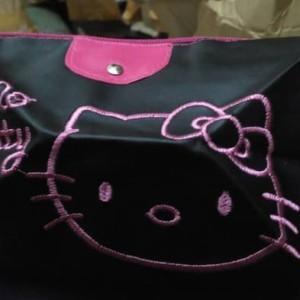 Sale Tas Kosmetik Bordir Hello Kitty Tokopedia