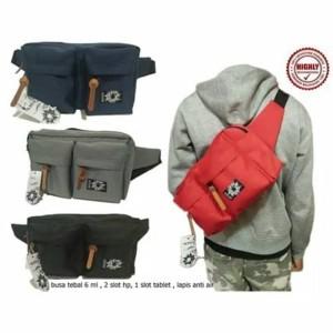 Waist Pack Tas Hp Sling Bag Tokopedia
