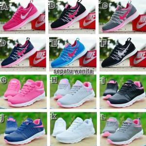 Jual sepatu olahraga nike airmax women wanita putih pink hitam biru d6840c24dc