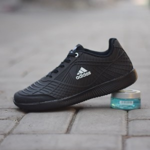 Sepatu Sekolah Adidas Bahan Karet Hitam Polos Tokopedia