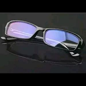 Kacamata Anti Radiasi Pc Tv Komputer Hp Anti Radiation Glasses Blue Lens Tokopedia