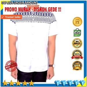 Baju Batik Pria Hem Batik Kemeja Tokopedia