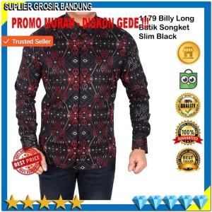 Baju Batik Lengan Panjang Kemeja Batik Seragam Tokopedia