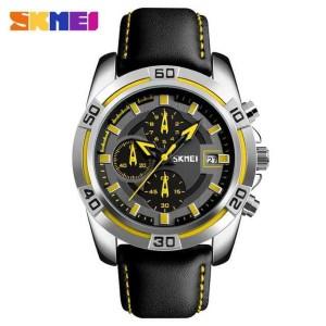 Skmei Jam Tangan Kulit Casual Unisex Korean Fashion Watch Water Resistant Nf52788 Tokopedia