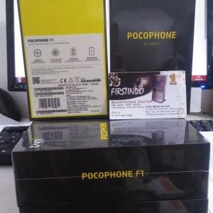 Xiaomi Pocophone F1 128gb 6gb Snapdragon 845 Flashgip Poco Baru Segel Tokopedia