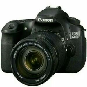 Canon 60d Kit 18 55mm Is Ii Like New Tokopedia