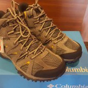 Sepatu Gunung Columbia Grand Canyon Mid Outdry Shark Dark Banana Tokopedia