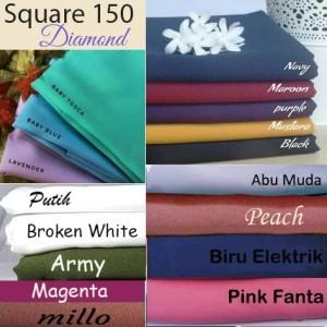 List Harga Produk Hijab Segi Empat Diamond Crepe Mustard Toko