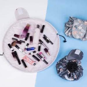 Tas Kosmetik Travel Lazy Makeup Pouch Cosmetic Bag Tokopedia