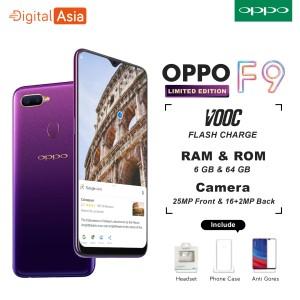 Oppo F9 New Starry Purple Tokopedia