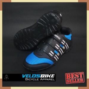 Sepatu Sepeda Non Cleat Bukan Shimano Sidi Tiebao Merah Velosbike Tokopedia
