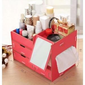 Hot Sale Rak Kosmetik Cermin Tempat Alat Kosmetik Kecantikan Tokopedia