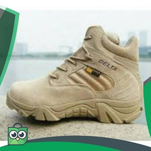 Sepatu Delta Force Coklat Tokopedia