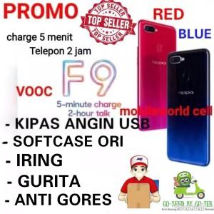 Oppo F9 4 64gb Resmi 1 Tahun Tokopedia