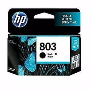Hp 803 Tinta Black Ink Cartridge F6v21aa Tokopedia