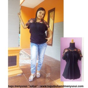 Baju Ibu Hamil Menyusui Salsa Tokopedia