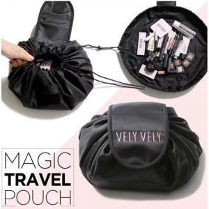 Terlaris Vely Vely Korean Lazy Cosmetic Travel Bag Tas Kosmetik Tokopedia