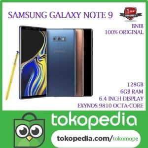 Samsung Note 9 128gb Garansi Sein Tokopedia