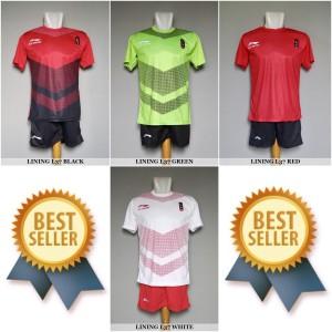 Setelan Timnas Indonesia Asian Games Lining L37 Baju Kaos Jersey Olahraga Tokopedia