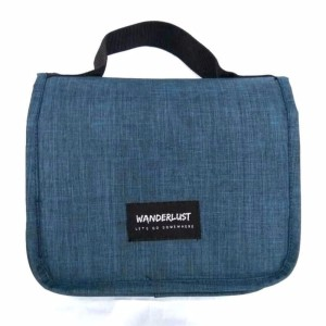Wanderlust Toiletries Tas Mandi Tas Kosmetik Tas Makeup Travel Black Hitam Tokopedia
