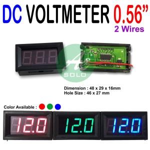 DC Voltmeter Digital Volt meter 0.56inch