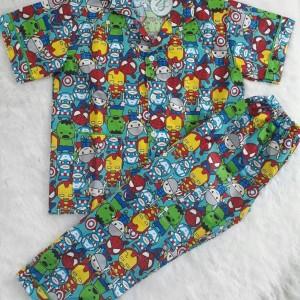 Piyama Anak Atau Baju Tidur Anak A13 Tokopedia