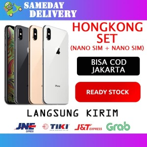 Iphone 256 Xs Max Silver Like New Hongkong Dualsim Tokopedia