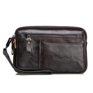 Hand Bag Kulit 2249 Hitam Tas Tangan Dompet Hp Tas Jinjing Tokopedia