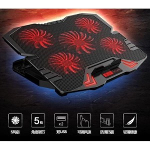 Cooling Pad Laptop 5 Fan Kipas Super Alas Pendingin Laptop