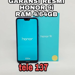 Honor 9i Ram 4gb Internal 64gb Garansi Resmi 1 Tahun Tokopedia