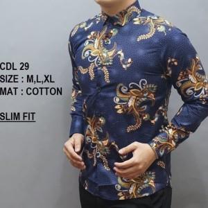 Baju Batik Keren Kemeja Tokopedia