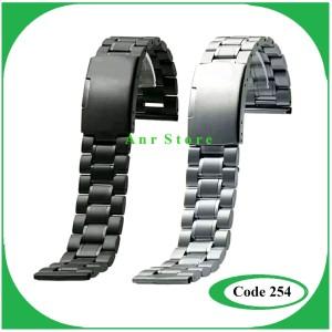 Tali Rantai Metal Stainless Steel Jam Tangan Thick Watch