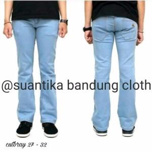Celana Jeans Pria Cutbray Skinny Tokopedia