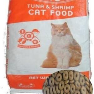 Jual Makanan Kucing Cuties Catz Tuna & shrimp Repack 2.5 kg