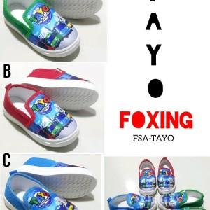 Sepatu Anak Anak Foxing Tayo Trains Tokopedia