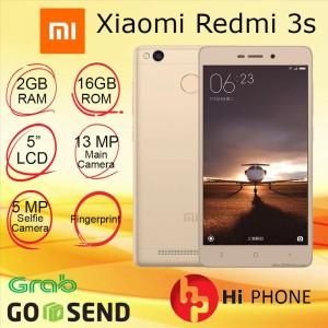 Xiaomi Redmi 3s Ram 2 16 Grey Gold Tokopedia