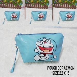 Best Seller Tas Kosmetik Doraemon Pouch Kosmetik Doraemon Plus Tali Jb 661 Tokopedia