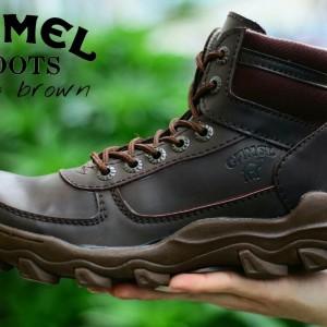 Sepatu Boots Camel Regio Safety Tokopedia